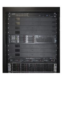 "For standard 19"" mounting on 24"" overall rack widths (24"" width frames require two pairs of MCX mounting channels per frame)"