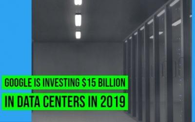 Google Budgets $13 Billion To Build Several New Data Centers In America